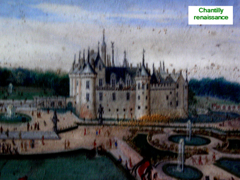 Chantilly chateau+gravure+Chantilly++CIMG1176+